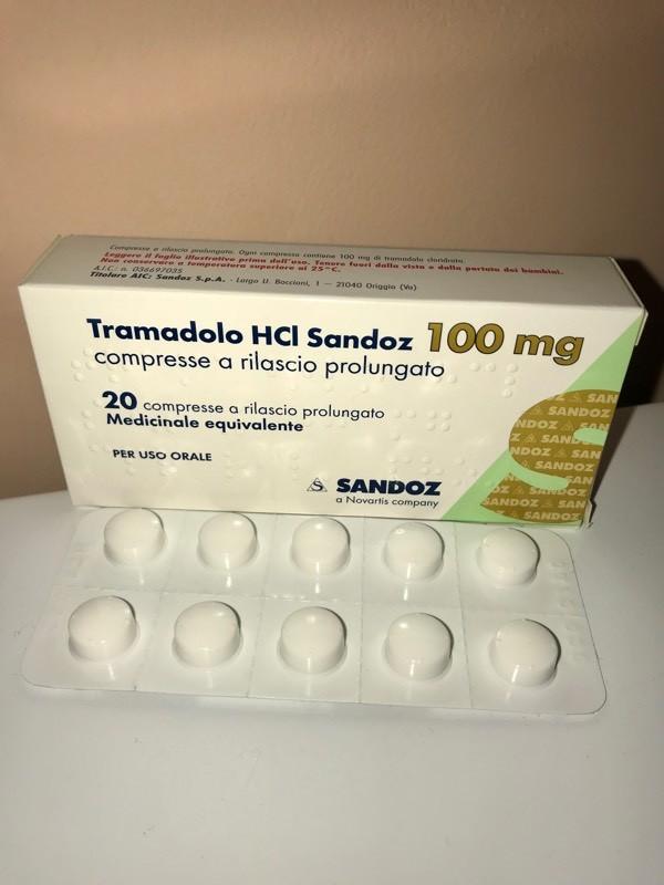 Tramadol 100 mg Brand by Sandoz - Analgésiques - D'autres