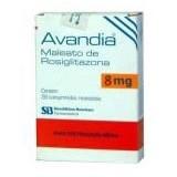 Generic Avandia (Rosiglitazone) 2mg