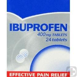 Generic Ibuprofen (Motrin) 400 mg