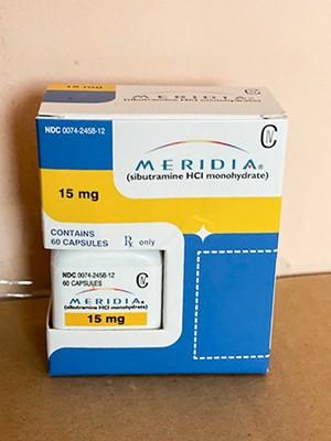 Reductil Generika Sibutramine (Meridia) 15 mg
