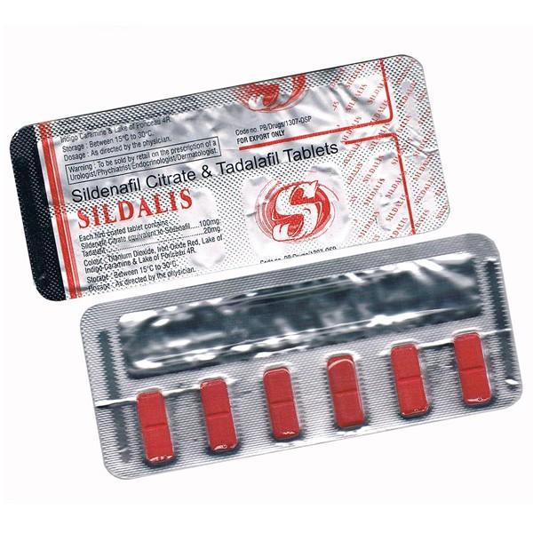 Sildalis (Citrato de  Sildenafil + Tadalafilo)