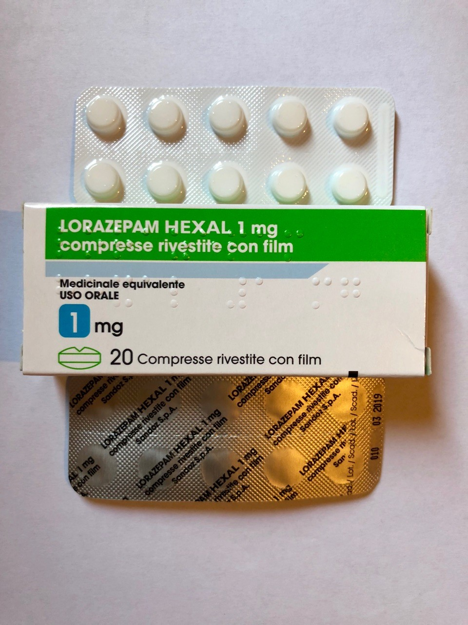 Alprazolam 1 mg