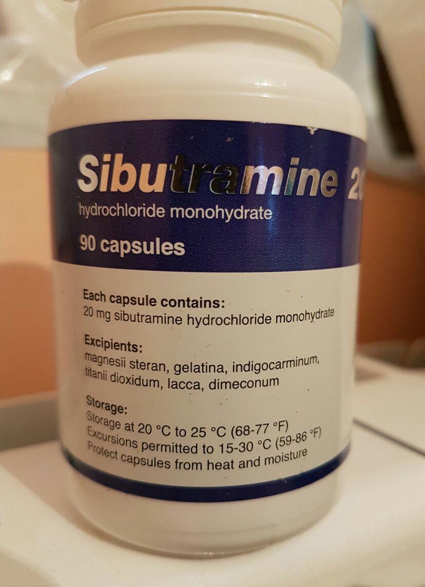 Generic Reductil (Meridia, Ectivia) 20 mg - packing 30 pills