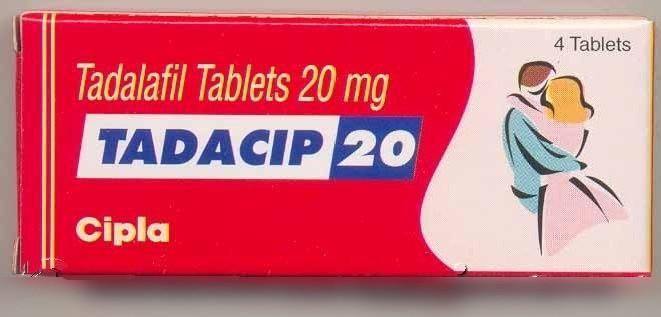 Тадасип (Tadacip, Дженерик Сиалис) 20 мг