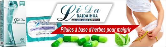 acheter lida daidaihua - Pilules à base d'herbes pour maigrir