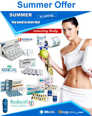 weight loss products: reductil acomplia xenical